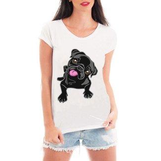 Camiseta Criativa Urbana Pug
