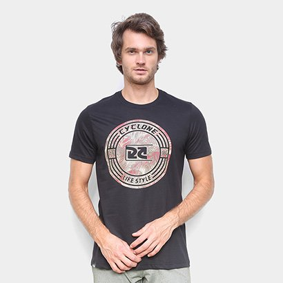 Camiseta Cyclone Loc Foliage Masculina
