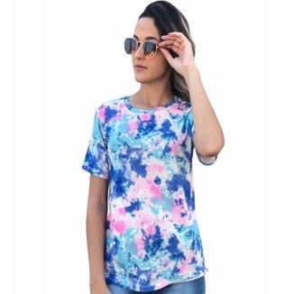 Camiseta D Bell Tie Dye Feminina