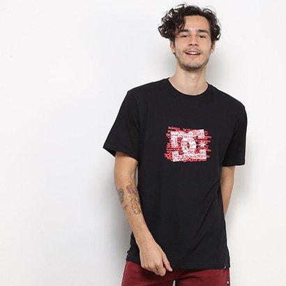 Camiseta DC Shoes Básica Spread Masculina