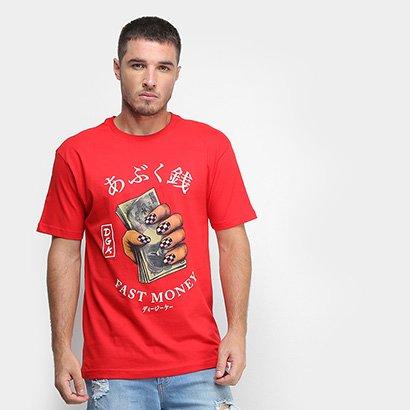 Camiseta DGK Fast Money Masculina