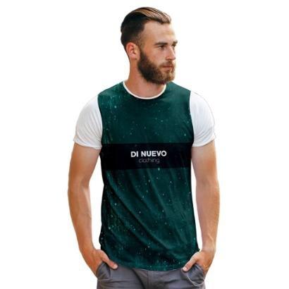 Camiseta Di Nuevo Trap Style Clothing Masculina