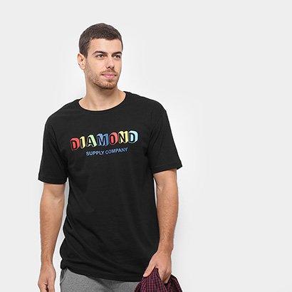 Camiseta Diamond Building Blocks Masculina