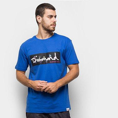 Camiseta Diamond Color Box Masculina