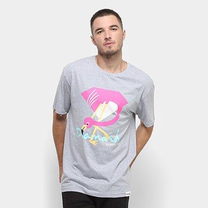 Camiseta Diamond Flamingo Sign Masculina