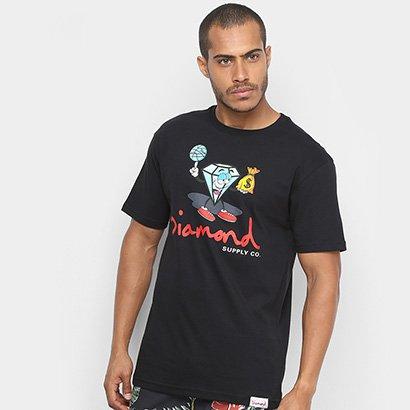 Camiseta Diamond Hoop Dreams Tee Masculina
