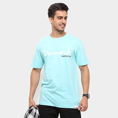 Camiseta Diamond Og Script Masculina