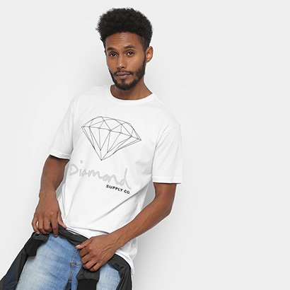 Camiseta Diamond OG Sign Masculina