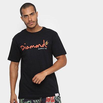 Camiseta Diamond Paradise OG Script Masculina