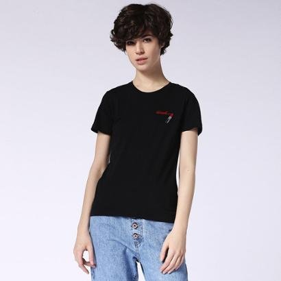 Camiseta Diesel T-Sily-F Feminina-Feminino