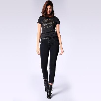 Camiseta Diesel T-Sily-L Feminina-Feminino