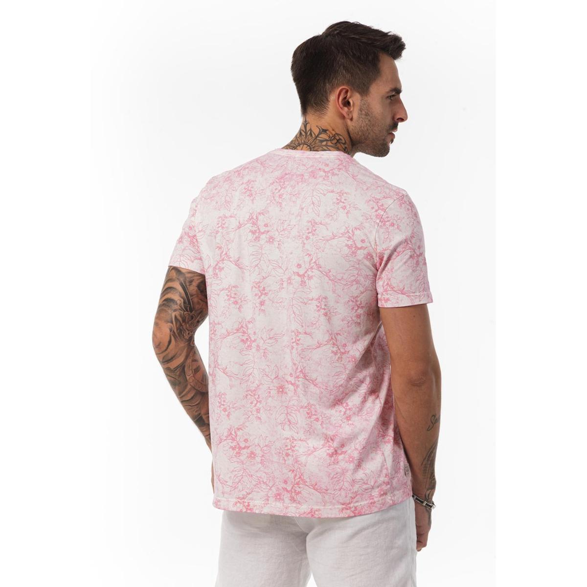 Camiseta Docthos MM Estampada Masculina - Rosa