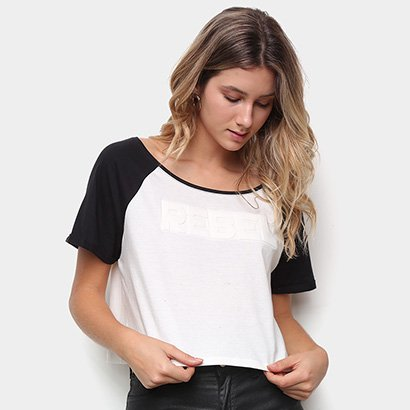 Camiseta Drezzup Estampa EVA Feminina