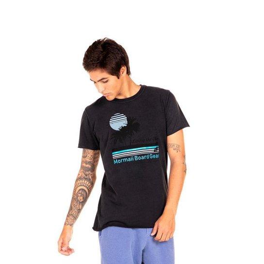 Camiseta Dupla Face Living Special Mormaii Masculina - Preto