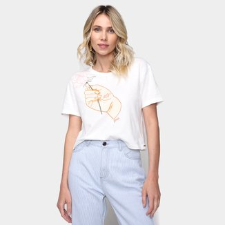 Camiseta Dzarm Cool Girl Feminina