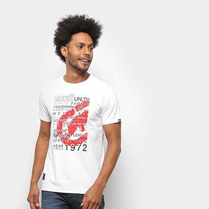 Camiseta Ecko Básica E881A Masculina