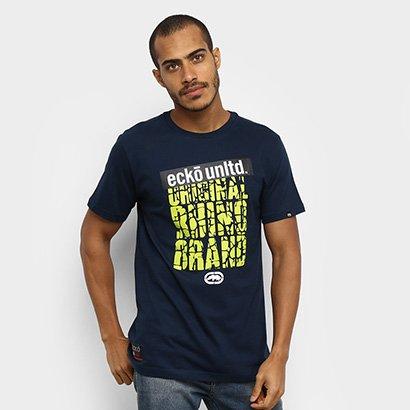 Camiseta Ecko Básica Estampada E884A Masculina