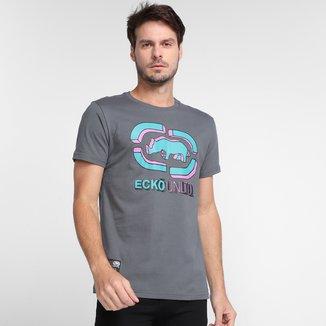 Camiseta Ecko Bicolor Masculina