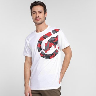 Camiseta Ecko Camo Logo Masculina