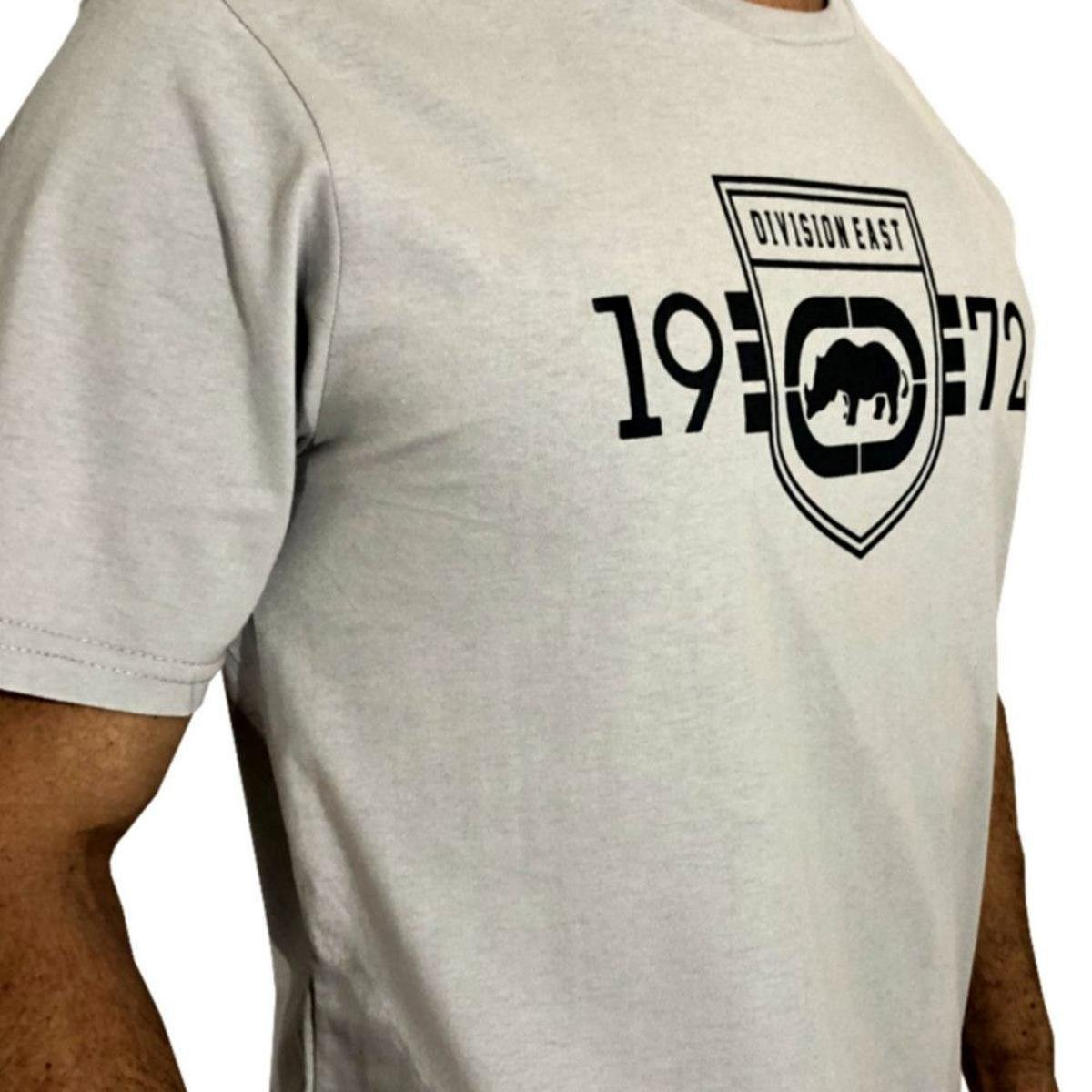 Camiseta Ecko Division East Masculina - Cinza