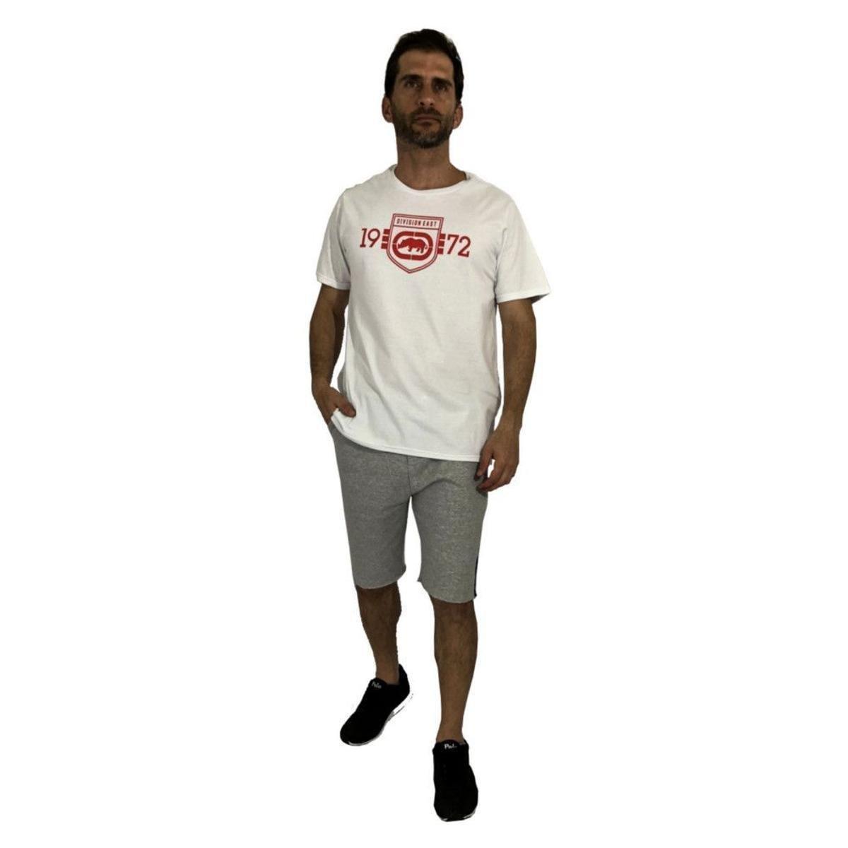 Camiseta Ecko Division East Masculina - Branco