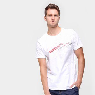 Camiseta Ecko Raw Uncut Masculina