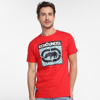 Camiseta Ecko Repeat Masculina