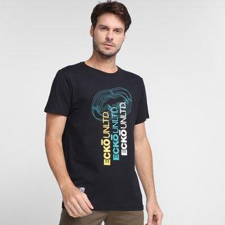 Camiseta Ecko Triple Masculina