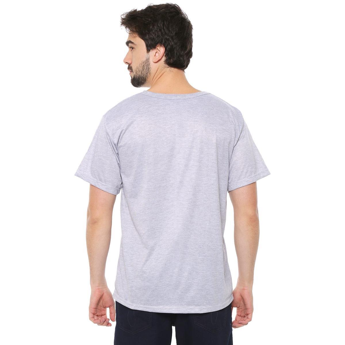 Camiseta Eco Canyon Beer Masculina - Cinza
