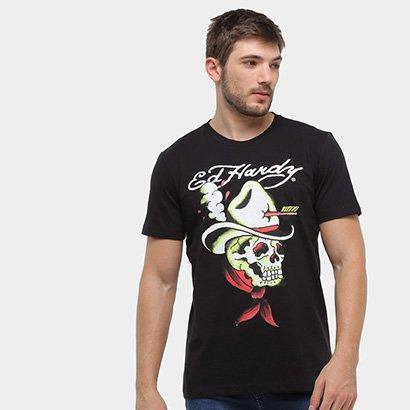 Camiseta Ed Hardy Cowboy Masculina