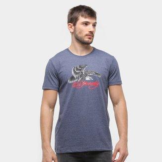 Camiseta Ed Hardy Eagle Signature Masculina