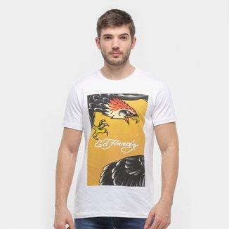 Camiseta Ed Hardy Full Eagle Masculina