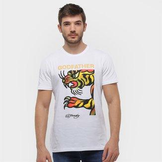 Camiseta Ed Hardy Full Tiger Masculina
