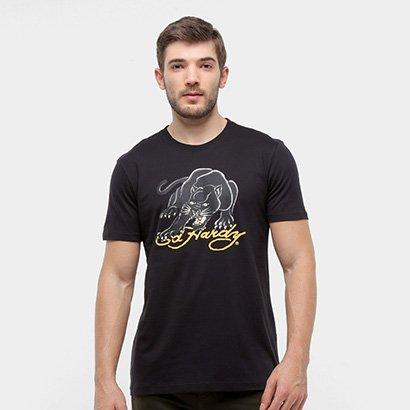 Camiseta Ed Hardy Panther Masculina