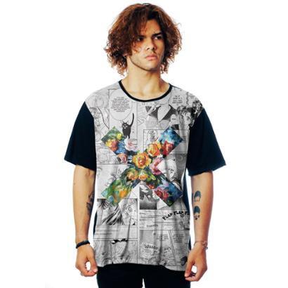 Camiseta ElephunK Estampada Geek XXX Moon XXX