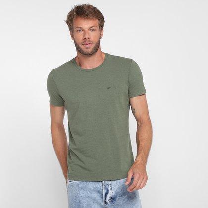 Camiseta Ellus Asa Melange Classic Masculina
