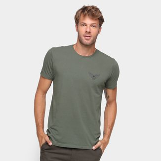 Camiseta Ellus Básica Manga Curta Masculina