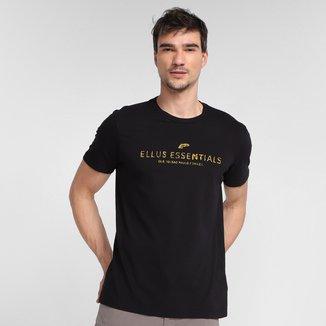 Camiseta Ellus Essentials Manga Curta Masculina
