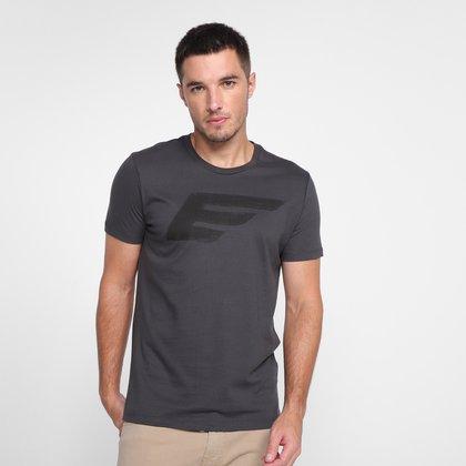 Camiseta Ellus Estampada Manga Curta Masculina