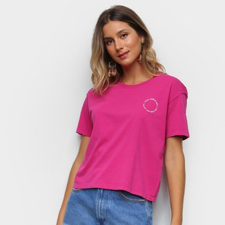 Camiseta Ellus Feels Like Summer Feminina