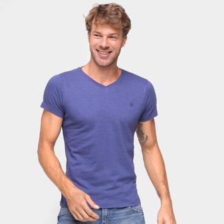 Camiseta Ellus Gola V Masculina