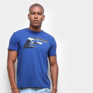 Camiseta Ellus Onda Masculina