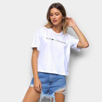 Camiseta Ellus Sea Shepherd Feminina