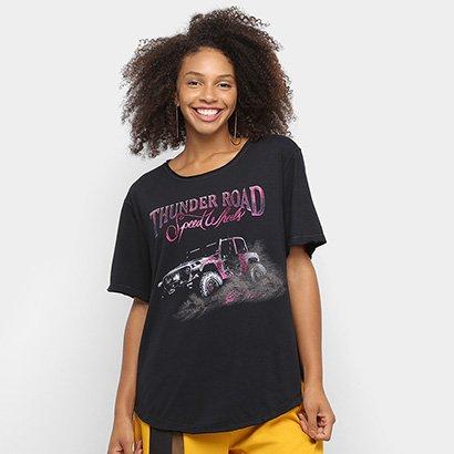 Camiseta Ellus Thunder Road Feminina