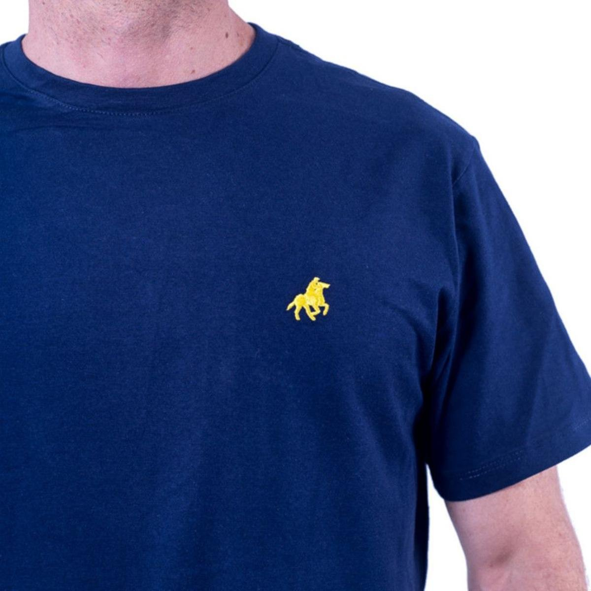 Camiseta England Polo Club Tagless Masculina - Marinho