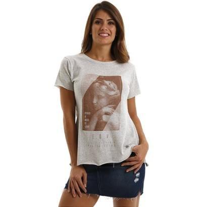 Camiseta Equivoco Primavera Feminina
