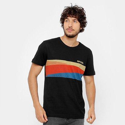 Camiseta Especial Rip Curl Bordered Masculina