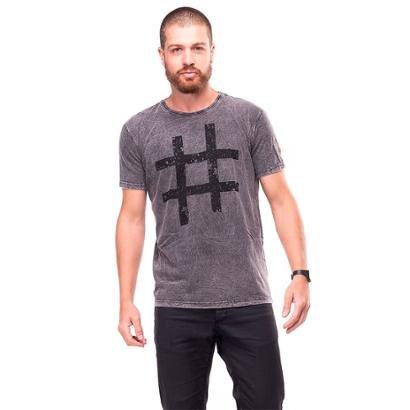 Camiseta Estonada Hashtag UseLiverpool Masculina