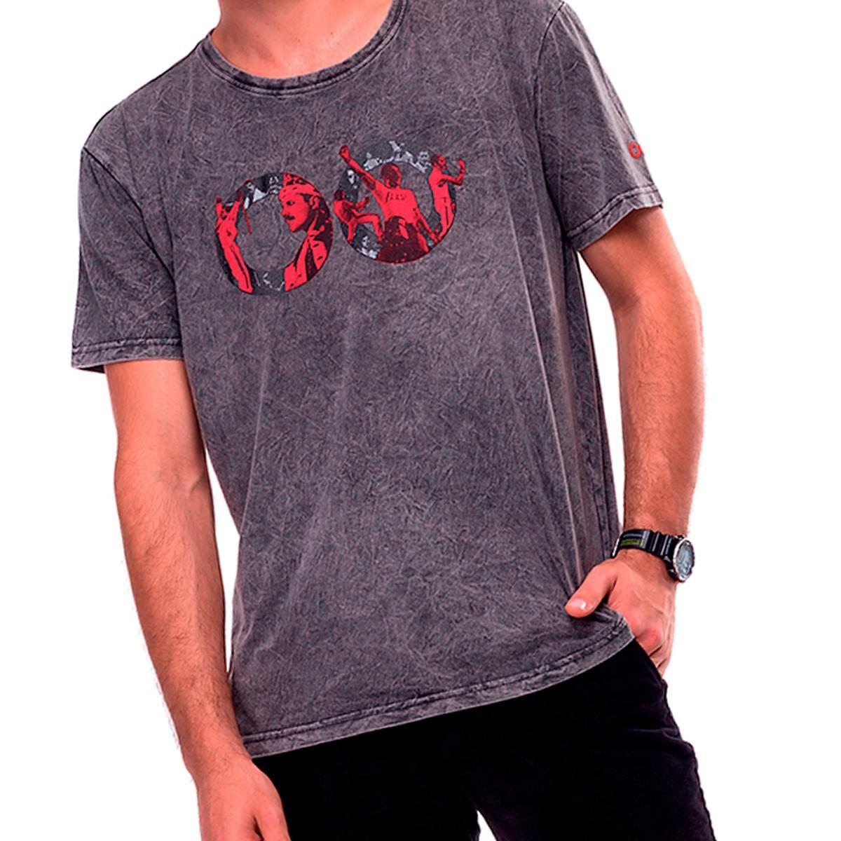 Camiseta Estonada Liverpool UseLiverpool Masculina - Preto