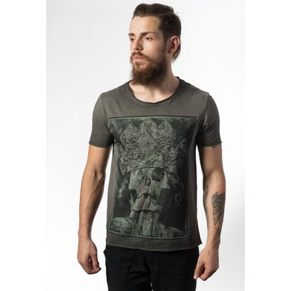 Camiseta Estonada Skull Lab King Skull